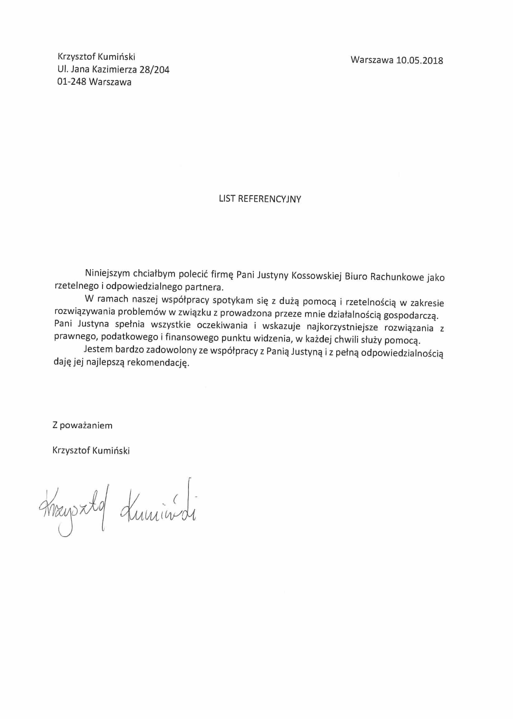 biuro księgowe Justyna Kossowska, księgowość warszawa